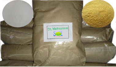DL-Methionine Amino Acid Crystal Nutritional Feed Additives GMP / ISO approval SAA-METDL98